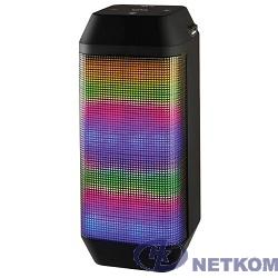 Ginzzu GM-899B {BT-Колонка 2x3W/4Ah/USB/TF/AUX/FM/цветомузыка}