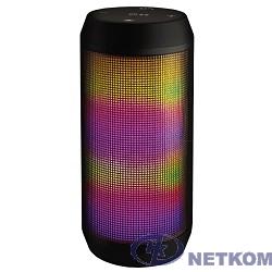 Ginzzu GM-898B {BT-Колонка 2x3W/4Ah/USB/TF/AUX/FM/цветомузыка}