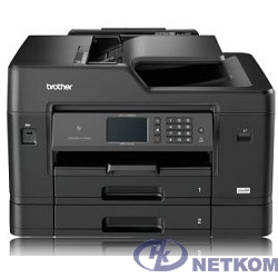 Brother MFC-J3930DW МФУ, А3, цветной струйный, 35/27 стр/мин, 256Мб, факс, дуплекс, DADF50, 2 лотка, WiFi, NFC, LAN (MFCJ3930DWR1)