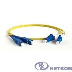 Hyperline FC-D2-9-LC/UR-SC/UR-H-5M-LSZH-YL Патч-корд волоконно-оптический (шнур) SM 9/125 (OS2), LC/UPC-SC/UPC, duplex, LSZH, 5 м