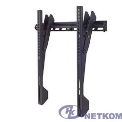 "Kromax VEGA-12 black, наст. для TV 22""-65"", max 50 кг, 1 ст св., нак. 0°-8°, от ст. 42 мм, max VESA 400x400 мм."