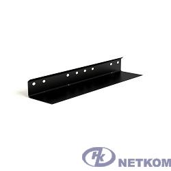 Hyperline TGB2-650-RAL9004 Горизонтальный монтажный профиль длиной 650 мм, для шкафов с глубиной 1000-1200 мм, цвет черный (RAL 9004) (для шкафов серии TTC2)