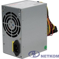 Exegate ES259590RUS/EX259590/264680 Блок питания 400W Exegate AAA400, ATX, 8cm fan, 24p+4p, 2*SATA, 1*IDE
