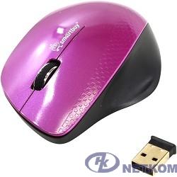 Мышь беспроводная Smartbuy 309AG розовый/черный [SBM-309AG-I]