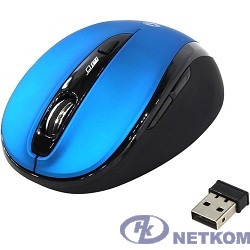 Мышь беспроводная Smartbuy 612AG беззвучная, синяя, Blue LED [SBM-612AG-BK]