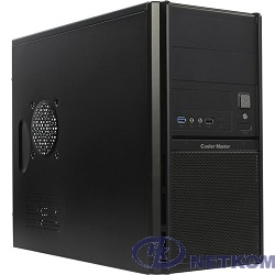 MidiTower Cooler Master Elite 342 [RC-342-KKN6-U3] Black/Black W/O PS   mATX