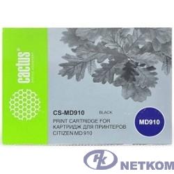 CACTUS MD910 Картридж ленточный CS-MD910 черный для Citizen MD-910