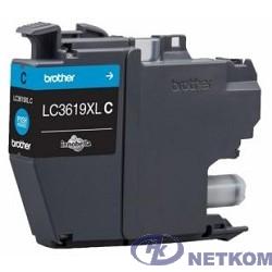 Brother LC-3619XLC Картридж, Cyan MFCJ3530/3930, Cyan, (1500стр)(LC3619XLC)