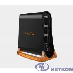 MikroTik RB931-2nD Беспроводной маршрутизатор hAP mini 2.4 ГГц, 2х LAN, 1х WAN