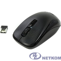 Genius Мышь NX-7005 Black { оптическая, 800/1200/1600 dpi, радио 2,4 Ггц, 1хАА, USB} [31030127101]