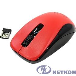 Genius Мышь NX-7005 Red { оптическая, 800/1200/1600 dpi, радио 2,4 Ггц, 1хАА, USB} [31030127103]
