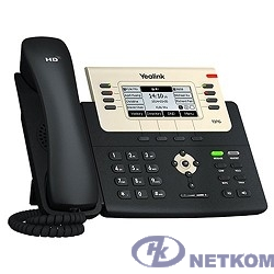 YEALINK SIP-T27G {SIP-T27G SIP-телефон, 6 линий, Opus, BLF, PoE, USB, GigE}