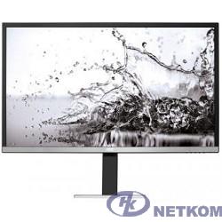 """LCD AOC 31.5"""" U3277FWQ серебристый/черный {VA 3840x2160 4 ms 16:9 DVI HDMI 300cd D-Sub DisplayPort 2x3W}"""
