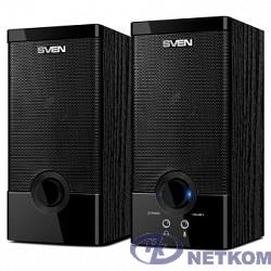 SVEN SPS-603 черный {USB-порт ПК, ноутбука или адаптер 5V DC}