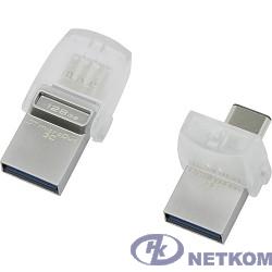 Kingston USB Drive 128Gb DTDUO3C/128GB silver