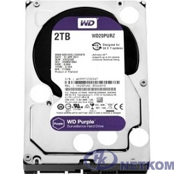 """2TB WD Purple (WD20PURZ) {Serial ATA III, 5400- rpm, 64Mb, 3.5""""}"""