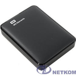 """WD Portable HDD 2Tb Elements Portable WDBU6Y0020BBK-WESN {USB3.0, 2.5"""", black}"""
