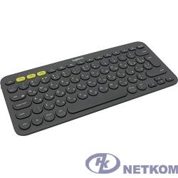 920-007584 Logitech Клавиатура K380 Dark Grey Wireless Bluetooth RTL, Multi-Device