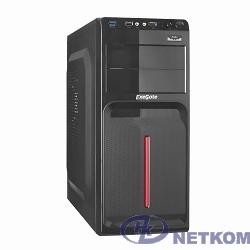 Exegate EX264156RUS Корпус Miditower Exegate AB-221U <Black, без БП, ATX, 3*SATA, 2*USB+1*USB3.0, Audio>