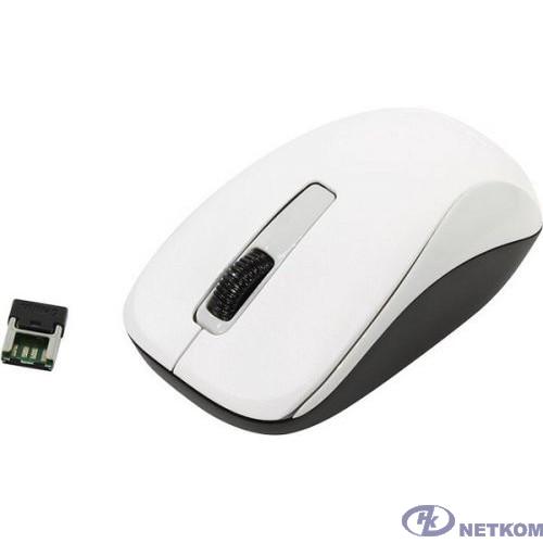 Genius Мышь NX-7005 White { оптическая, 800/1200/1600 dpi, радио 2,4 Ггц, 1хАА, USB} [31030127102]