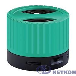 Ginzzu GM-988G, BT-Колонка 3W/TFcard/AUX/FM, зеленый