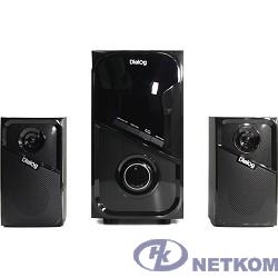 Dialog Progressive AP-225 BLACK - акустические колонки 2.1, 30W+2*15W RMS,Bluetooth,FM,USB+SD reade