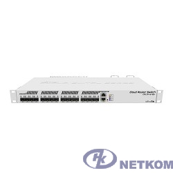MikroTik CRS317-1G-16S+RM Коммутатор 16х SFP+, 1х 1G RJ45, SwOS или RouterOS