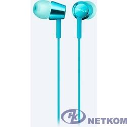 Sony MDREX155APL.E 1.2м голубой проводные (в ушной раковине)