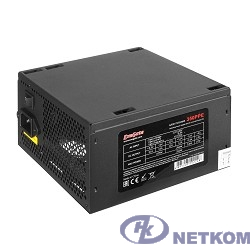 Exegate EX260637RUS Блок питания 350W Exegate 350PPE, ATX, black, APFC, 12cm, 24p+4p, PCI-E, 5*SATA, 3*IDE, FDD