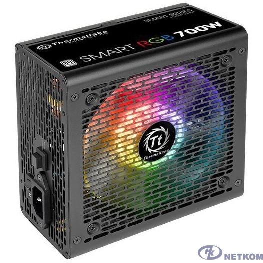 Блок питания Thermaltake Smart  RGB  [PS-SPR-0700NHSAWE-1]  700W / APFC / 80+