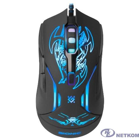 Defender Bionic GM-250L [52250] {Проводная игровая мышь, оптика,6кнопок,800-3200dpi}