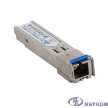 GIGALINK GL-OT-SG06SC1-1550-1310-B Модуль SFP, WDM, 155Mb/1,25Gb/s одно волокно SM, SC, Tx:1550/Rx:1310 нм, 6 дБ до 3 км