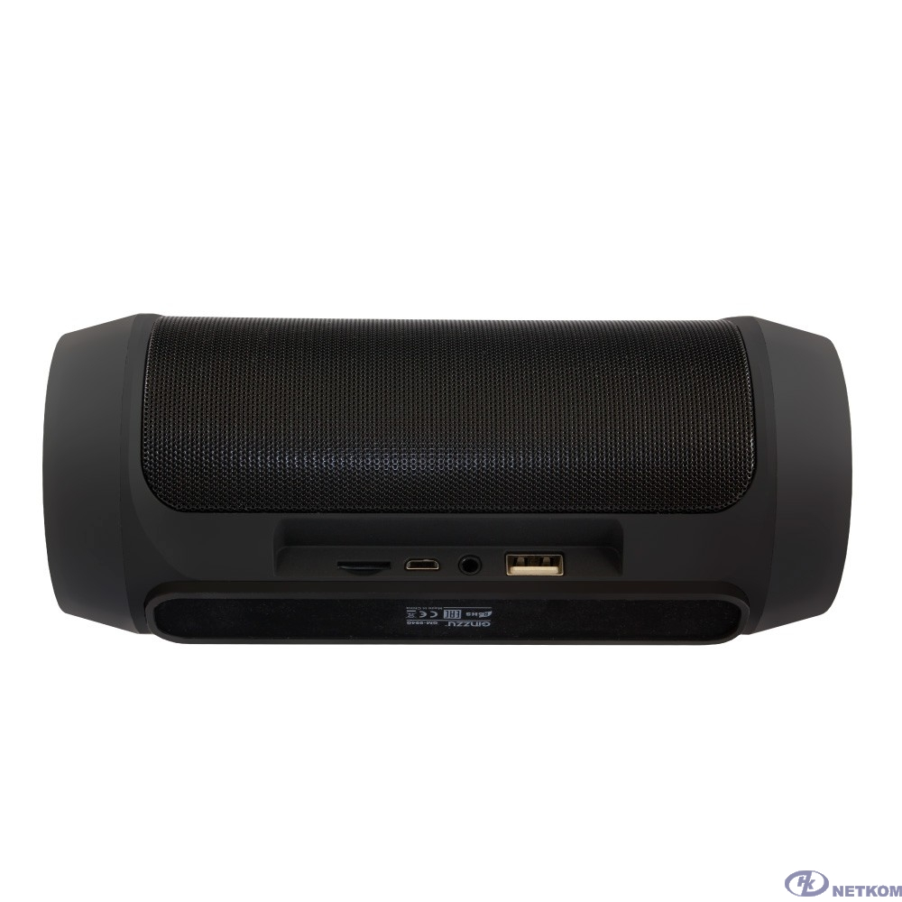 Ginzzu GM-994G (2х5Вт, 100Гц-18КГц, 2400мАч, Handsfree, AUX-in, TF/microSD, USB-flash, FM-radio, PowerBank