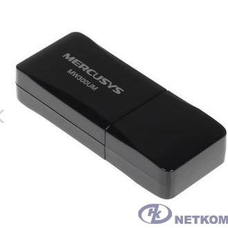 Mercusys MW300UM Беспроводной сетевой мини USB-адаптер, скорость до 300 Мбит/с