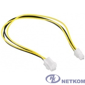 Cablexpert Удлинитель питания, ATX 4-Pin M/F, длина 0,3м (CC-PSU-7)