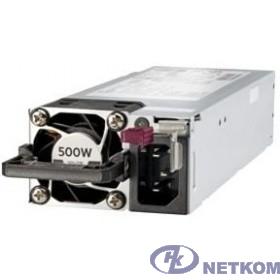 HPE 500W Flex Slot Platinum Hot Plug Low Halogen Power Supply Kit (865408-B21 / 866729-001)