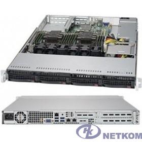 SuperMicro SYS-6019P-WT Сервер.платформа  1U 2xS3647 TDP165W 4LFF 2xGbE 2xFH 1LP 1x600W