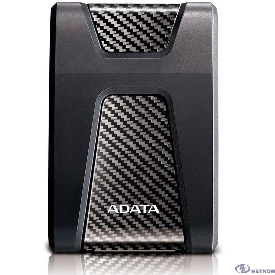 """A-Data Portable HDD 2Tb HD650 AHD650-2TU31-CBK {USB3.1, 2.5"""", Black}"""