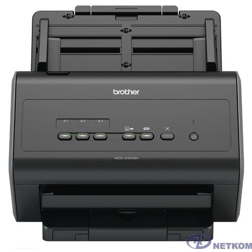 Сканер Brother ADS2400N черный (ads2400nun1)