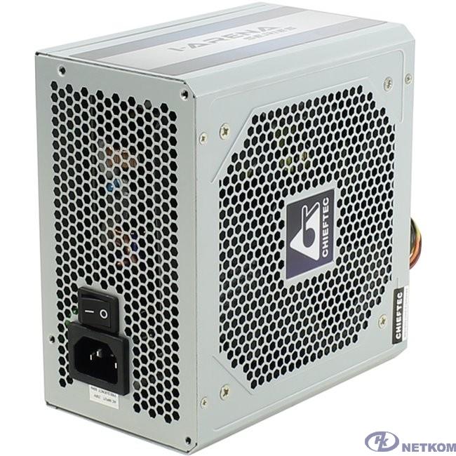 Chieftec 500W OEM (GPC-500S) {ATX 2.3, 80 PLUS, 80% эфф, Active PFC, 120mm fan}