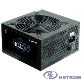 Chieftec 500W (BDF-500S) {ATX 2.3, 80 PLUS BRONZE, Active PFC, 120mm fan}