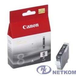 Canon CLI-8Bk 0620B024 Картридж для Pixma 4200/5200/MP500/MP800, Черный, 5220стр.