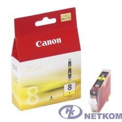 Canon CLI-8Y 0623B024 Картридж для Canon 4200/5200/MP500/MP800, Желтый, 490стр.