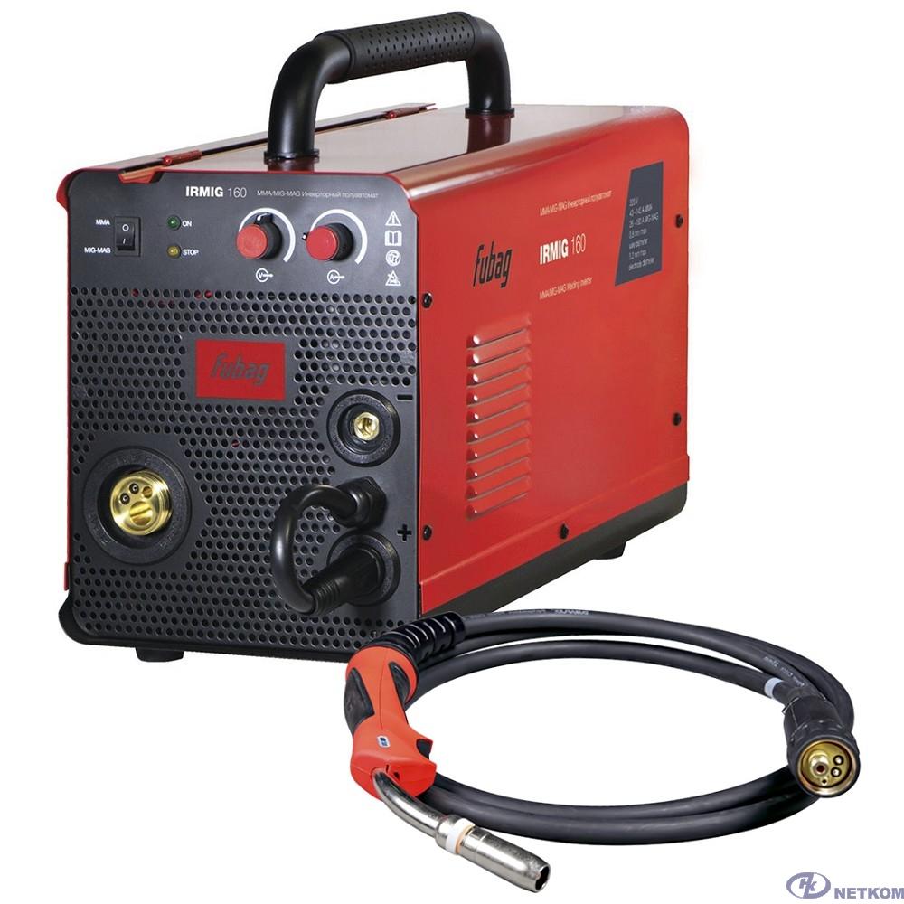 FUBAG Сварочный полуавтомат_инвертор IRMIG 160 (38607) + горелка FB 150_3 м (38440) [38607.2/31431.1]