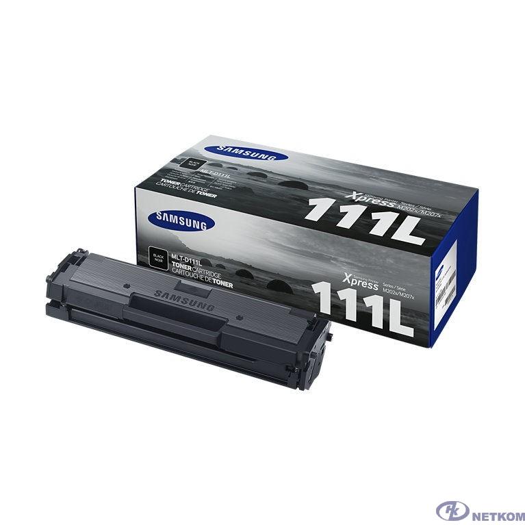Samsung MLT-D111L/SEE Тонер Картридж черный для Xpress M2022, M2022W, M2020, M2021, M2020W, M2021W, M2070 (1800стр.) (SU801A)