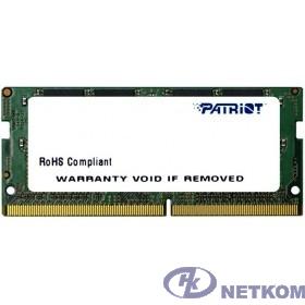 Patriot DDR4 SODIMM 16GB PSD416G24002S PC4-19200, 2400MHz