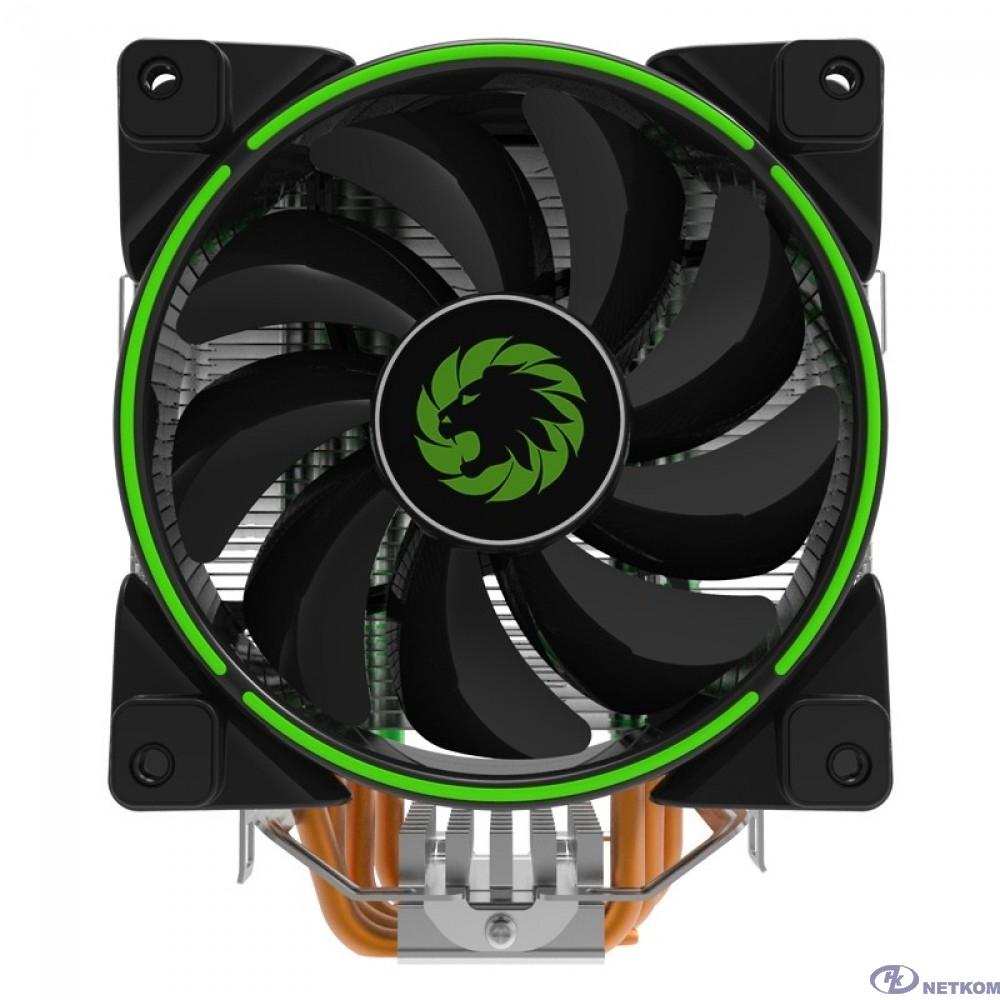 GameMax Gamma 500 Green Кулер универсальный, Intel/AMD TDP 187W CPU