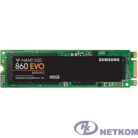 Samsung SSD 500Gb 860 EVO M.2 MZ-N6E500BW