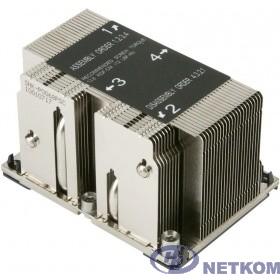 Supermicro SNK-P0068PSC - 2U Passive CPU Heat Sink for LGA 3647, 108x78x64