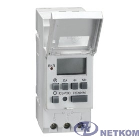 Iek MTA10-16 Таймер ТЭ15 цифровой 16А 230В на DIN-рейку ИЭК